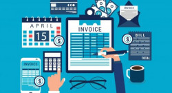Debt recovery invoice