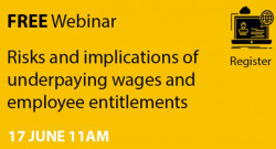 Webinar on employee entitlements