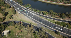 Arial View of the Highway